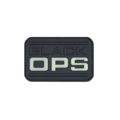 NAŠITEK 3D PATCH BLACK OPS